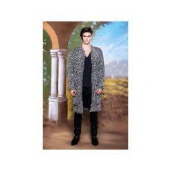 Płaszcz Royals ze sztruksu - Ciemny Fiolet. Białe płaszcze na zamek męskie marki MALE-ME, l, ze skóry. Za 749,00 zł.