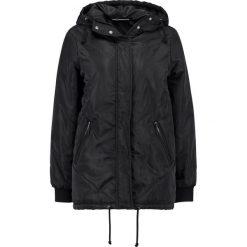 Płaszcze damskie pastelowe: Noisy May NMSAM LONG JACKET Krótki płaszcz black