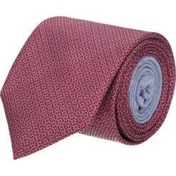 Krawat winman bordo classic 202. Czerwone krawaty męskie Recman, z bawełny, biznesowe. Za 129,00 zł.