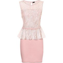Sukienki: Sukienka koronkowa bonprix stary róż