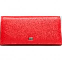 Nobo - Portfel. Czerwone portfele damskie marki Nobo, z materiału. W wyprzedaży za 199,90 zł.