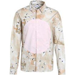 Koszule męskie na spinki: Soulland GEORGE FABRIC  Koszula camo/pink