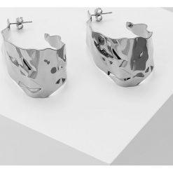 Dyrberg/Kern KLINT EARRING Kolczyki shiny silvercoloured. Szare kolczyki damskie Dyrberg Kern. Za 369,00 zł.