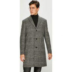 Calvin Klein - Płaszcz. Szare płaszcze na zamek męskie Calvin Klein, z materiału, klasyczne. Za 1499,00 zł.