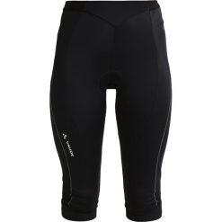 Spodnie dresowe damskie: Vaude ADVANCED Rybaczki sportowe black