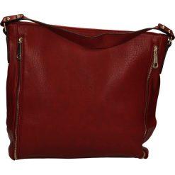 TOREBKA F080. Czerwone torebki klasyczne damskie Casu. Za 69,99 zł.