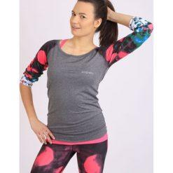 Odzież sportowa damska: Spokey Spokey BALLS - Bluzka fitness dł. rękaw; r.L - 839492