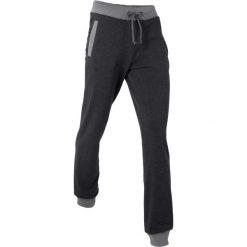 Spodnie sportowe, długie, Level 1 bonprix czarny melanż. Czarne spodnie dresowe damskie bonprix, melanż. Za 74,99 zł.