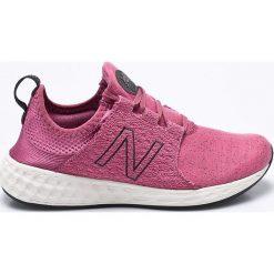 New Balance - Buty Wcruzhm. Różowe buty sportowe damskie New Balance, z gumy. W wyprzedaży za 269,90 zł.