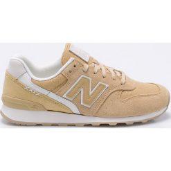 New Balance - Buty WR996BC. Szare buty sportowe damskie New Balance, z materiału. W wyprzedaży za 299,90 zł.