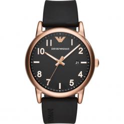 Zegarek EMPORIO ARMANI - Luigi AR11097  Black/Rose Gold. Czarne zegarki męskie marki Emporio Armani. Za 809,00 zł.