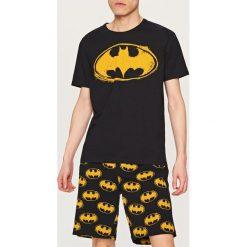 Piżamy męskie: Piżama batman - Czarny