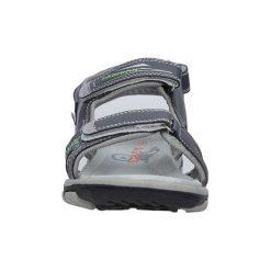 Sandały Casu  Szare sandały na rzepy  HT593B. Szare sandały trekkingowe damskie marki Casu. Za 49,99 zł.