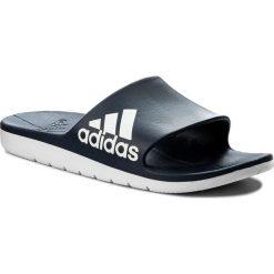 Klapki adidas - Aqualette Cf CM7929  Conavy/Ftwwht/Ftwwht. Niebieskie klapki męskie Adidas, z tworzywa sztucznego. Za 119,00 zł.