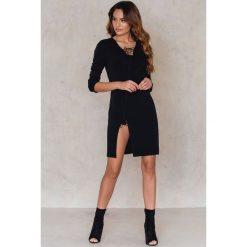 Sukienki asymetryczne: Aéryne Paris Sukienka nell – Black