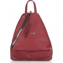 Plecak damski 87-4Y-352-2. Czerwone plecaki damskie Wittchen, wizytowe. Za 199,00 zł.