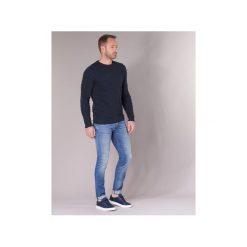 Jeansy slim fit Sisley  BURLUDU. Niebieskie jeansy męskie relaxed fit Sisley. Za 367,20 zł.