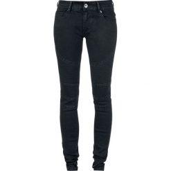 Boyfriendy damskie: Forplay Biker Pants Jeansy damskie czarny