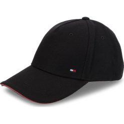 Czapka z daszkiem TOMMY HILFIGER - Melton Corporate Cap AM0AM03996 002. Czarne czapki z daszkiem męskie marki TOMMY HILFIGER. Za 179,00 zł.
