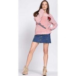 Różowy Sweter Flaming. Czerwone swetry klasyczne damskie Born2be, l. Za 79,99 zł.