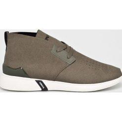 Levi's - Buty Black Tab Desert. Czarne buty skate męskie Levi's®, z gumy, na sznurówki. W wyprzedaży za 299,90 zł.