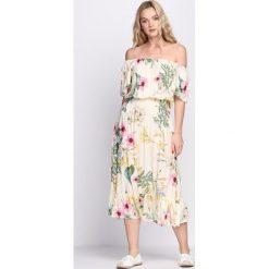 Sukienki: Jasnożółta Sukienka Zaffre