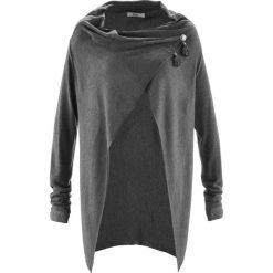 Lekki sweter rozpinany w ludowym stylu bonprix szary melanż. Szare kardigany damskie marki Mohito, l. Za 59,99 zł.