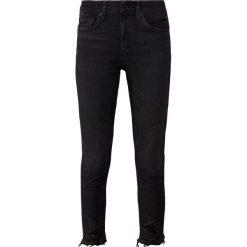 Agolde SOPHIE Jeans Skinny Fit temple. Czarne jeansy damskie relaxed fit Agolde, z bawełny. Za 919,00 zł.