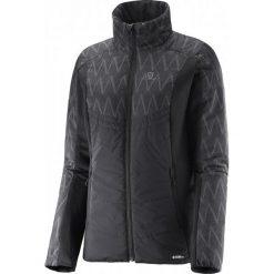 Salomon Kurtka Drifter Mid Jacket W Black/Black M. Szare kurtki damskie narciarskie marki Salomon, z gore-texu, na sznurówki, gore-tex. W wyprzedaży za 449,00 zł.