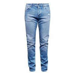 S.Oliver Jeansy Męskie 36/34 Niebieski. Niebieskie jeansy męskie z dziurami marki S.Oliver. W wyprzedaży za 169,00 zł.