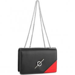 Torebka MONNARI - BAG8220-020 Black With Red. Czarne torebki klasyczne damskie Monnari, ze skóry ekologicznej. W wyprzedaży za 169,00 zł.