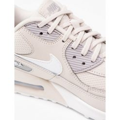 Trampki damskie slip on: Nike Sportswear AIR MAX 90 Tenisówki i Trampki desert sand/white/atmosphere grey