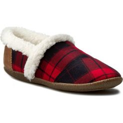 Kapcie damskie: Kapcie TOMS - Plaid Slipper 10008883 Red/Black