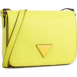 Torebka GUESS - HWTR66 91210  LEM. Żółte listonoszki damskie marki Guess, z aplikacjami, ze skóry ekologicznej. Za 519,00 zł.
