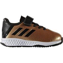 BUTY ADIDAS RAPIDATURF MESSI EL I BB0234. Brązowe buciki niemowlęce chłopięce Adidas. Za 99,00 zł.
