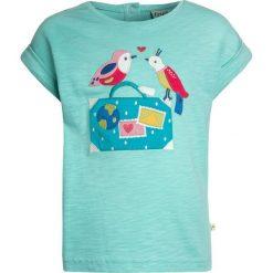 Odzież damska: Frugi KIDS SOPHIA Tshirt z nadrukiem seagreen