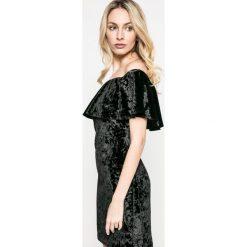 Kiss my dress - Sukienka. Szare sukienki balowe marki Kiss My Dress, m, z elastanu, mini, dopasowane. W wyprzedaży za 49,90 zł.