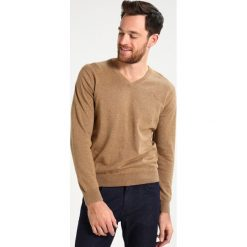 Swetry damskie: GANT WEIGHT VNECK Sweter brown