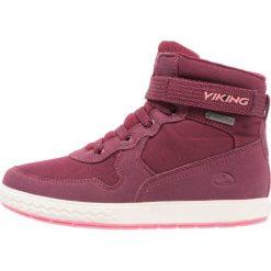 Viking VIGRA WARM UKUT Śniegowce plum/coral. Fioletowe buty zimowe damskie Viking, z materiału. W wyprzedaży za 209,50 zł.