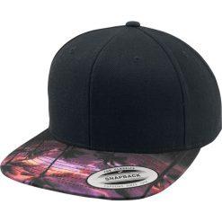 Yupoong Sunset Peak Czapka Snapback czarny. Czarne czapki z daszkiem damskie Yupoong, z nadrukiem, z tworzywa sztucznego. Za 54,90 zł.