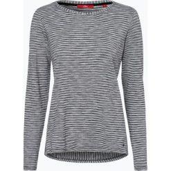 T-shirty damskie: s.Oliver Casual – Damska koszulka z długim rękawem, szary