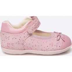 Geox - Baleriny dziecięce. Szare baleriny dziewczęce marki Geox, z gumy. W wyprzedaży za 149,90 zł.