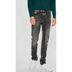 Diesel - Jeansy Deep Zip. Szare jeansy męskie slim Diesel. W wyprzedaży za 949,90 zł.