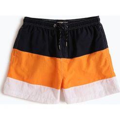 Ocean Cup - Męskie spodenki kąpielowe, pomarańczowy. Brązowe kąpielówki męskie marki NABAIJI, z elastanu. Za 79,95 zł.
