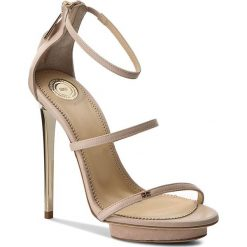 Rzymianki damskie: Sandały ELISABETTA FRANCHI – SA-320-2553-V356 Nudo 283