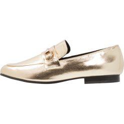 Półbuty damskie: Miss Selfridge Półbuty wsuwane metallic