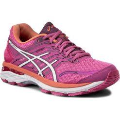 Buty ASICS - GT-2000 5 T757N Pink Glow/White/Dark Purple 2001. Czerwone buty do biegania damskie Asics, z materiału. W wyprzedaży za 359,00 zł.