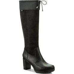 Buty zimowe damskie: Kozaki CLARKS - Londontown Gtx GORE-TEX 261270844 Black Leather