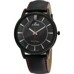 Zegarki męskie: Zegarek Gino Rossi męski Brenton czarny (10077A-1A3)