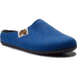 Kapcie GUMBIES - Outback Blue/Charcoal. Niebieskie kapcie męskie Gumbies, z materiału. Za 129,95 zł.